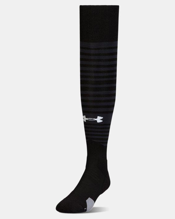 UA Global Performance Over-The-Calf Soccer Socks, Black, pdpMainDesktop image number 0