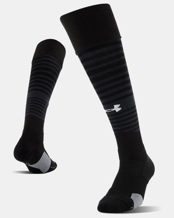 UA Global Performance Over-The-Calf Soccer Socks, Black, pdpMainDesktop image number 4