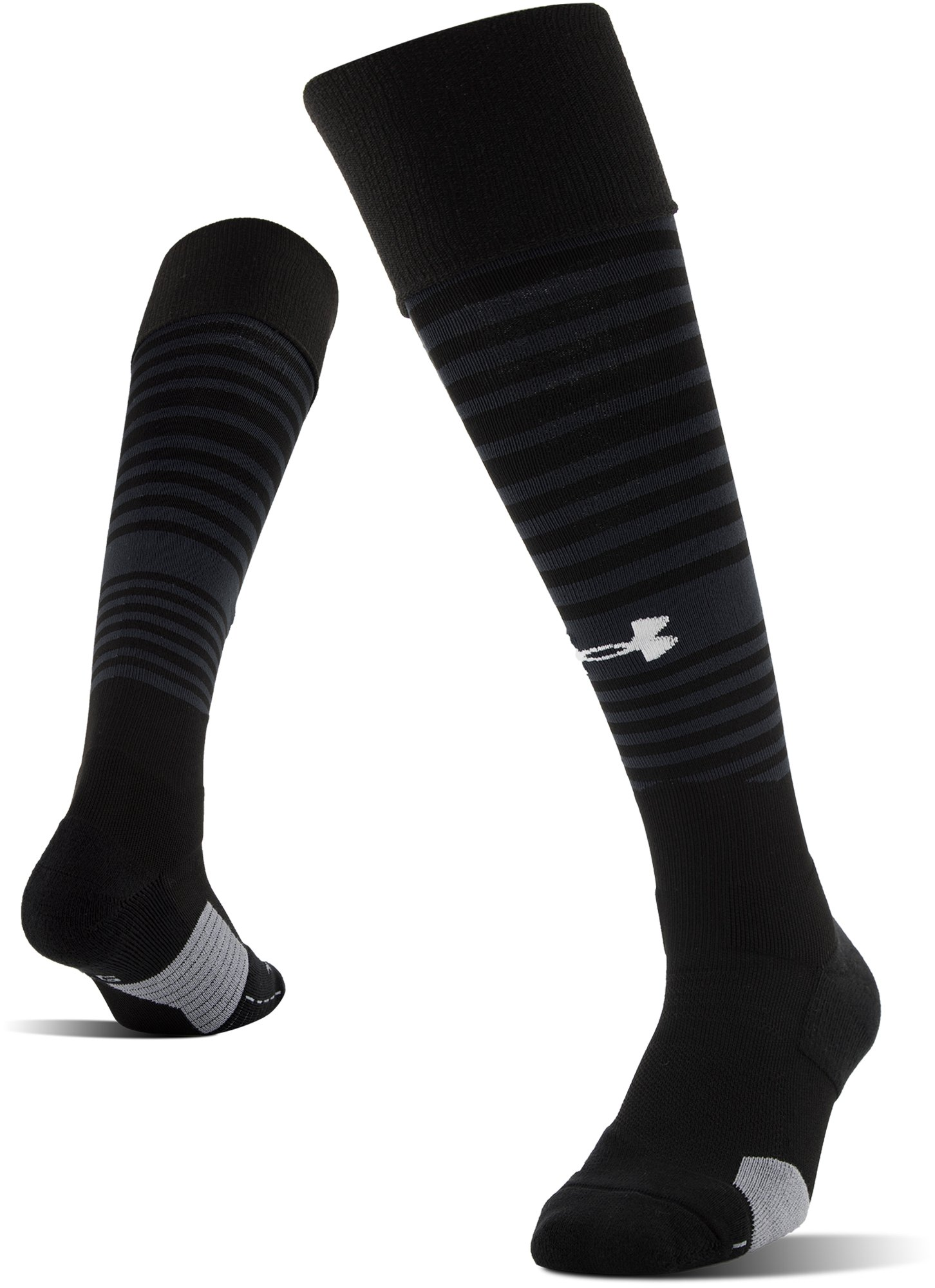 UA Global Performance Over-The-Calf Soccer Socks, Black