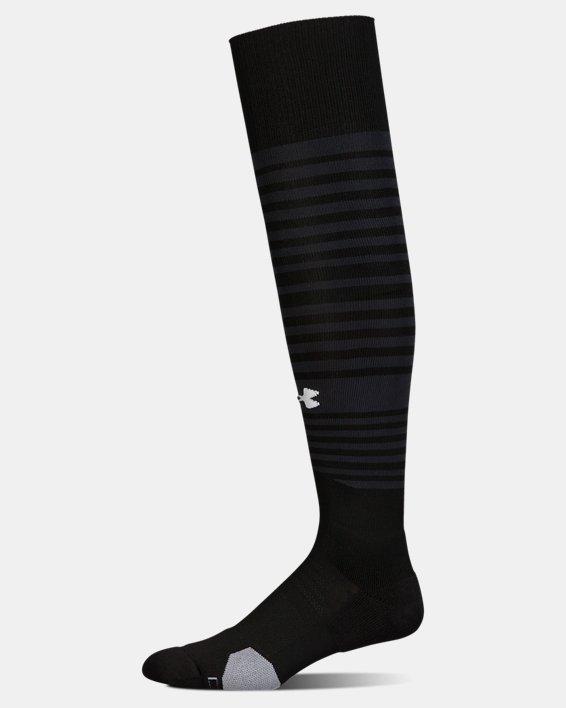 UA Global Performance Over-The-Calf Soccer Socks, Black, pdpMainDesktop image number 3