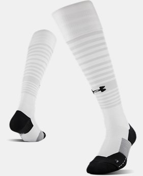 UA Global Performance Over-The-Calf Soccer Socks  6  Colors Available $17.99