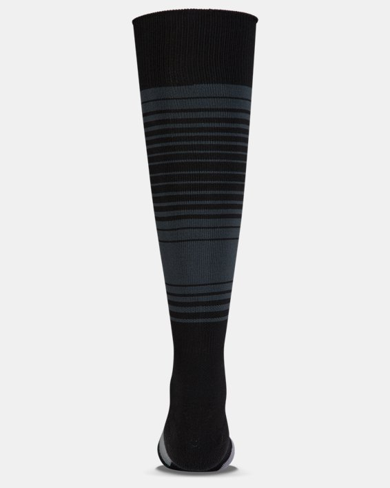 Kids' UA Global Performance Over-The-Calf Soccer Socks, Black, pdpMainDesktop image number 1