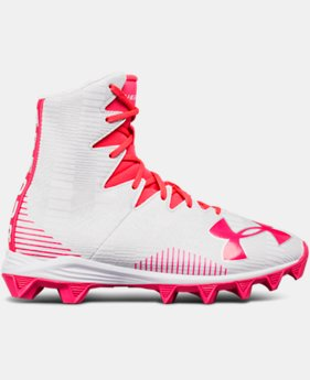 Girls' UA Highlight Rubber Molded Lacrosse Cleats  1  Color Available $32.99