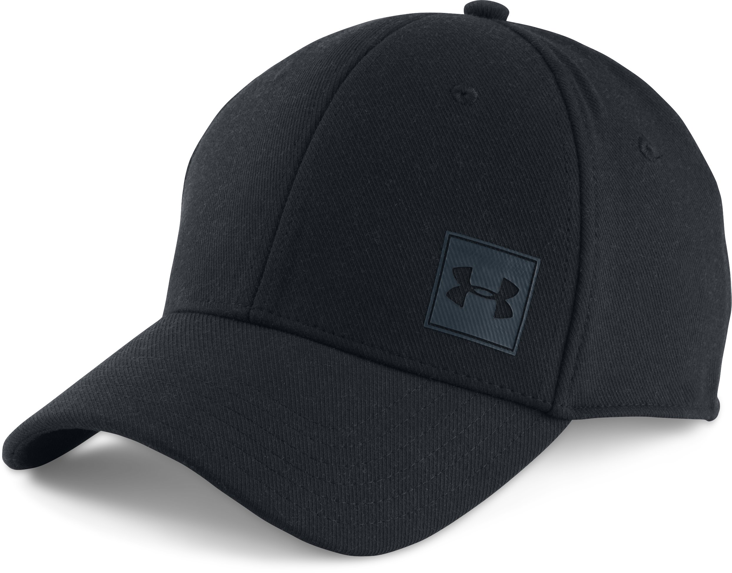 Men's UA Wool Low Crown Cap, Black , undefined
