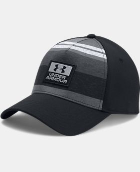 Men's UA Curved 5 Panel Stretch Cap  1 Color $32.99
