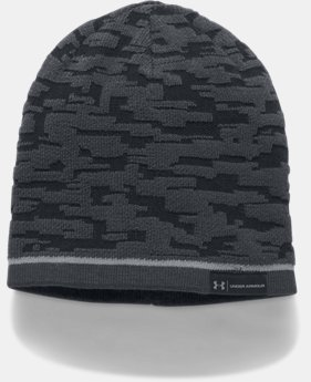 Men's UA Reversible Graphic Beanie LIMITED TIME OFFER 1 Color $20.99