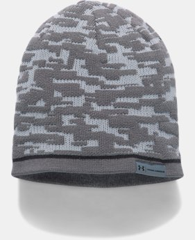 Men's UA Reversible Graphic Beanie  2 Colors $34.99