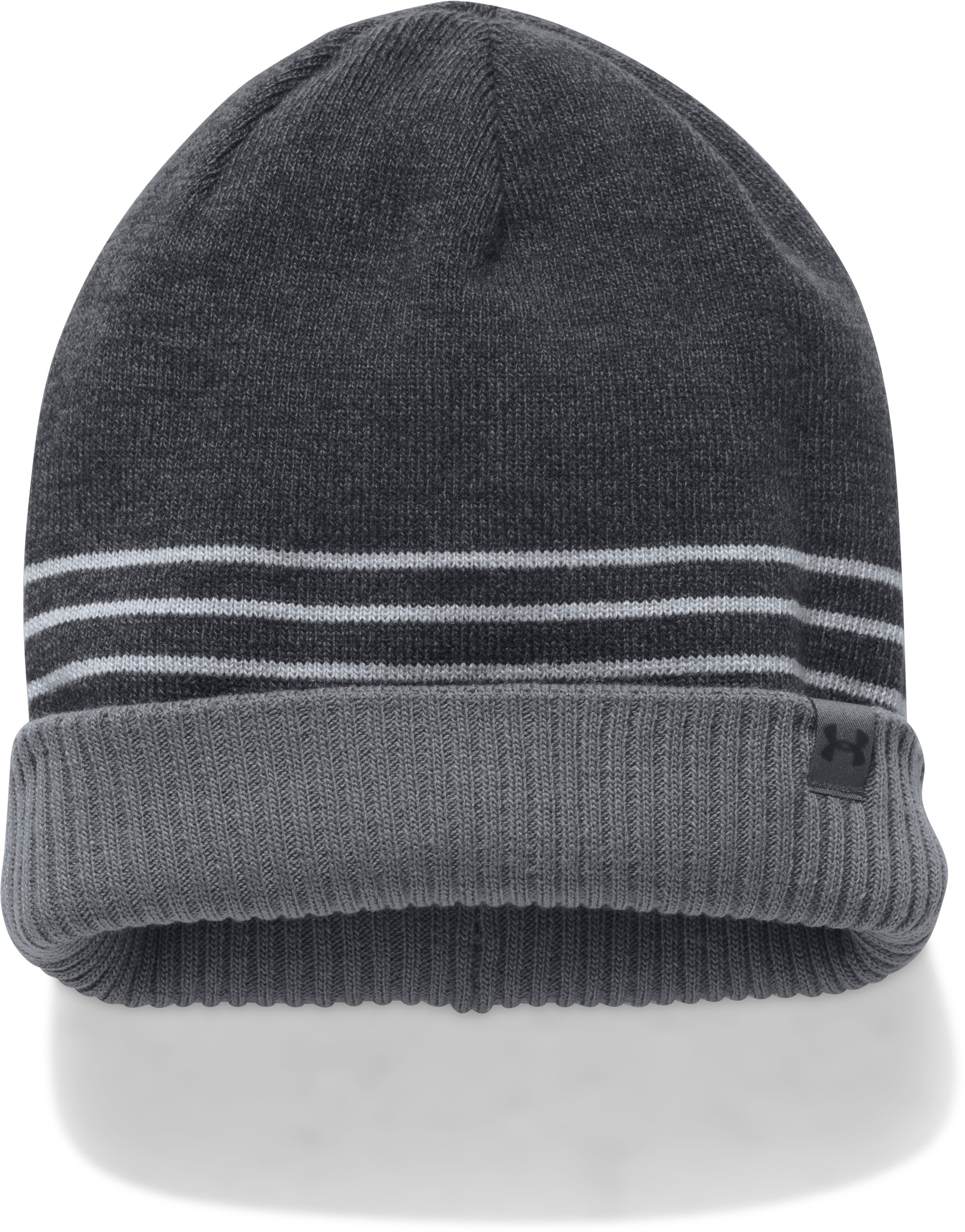 Men's UA 4-In-1 Beanie 2.0, Black , undefined