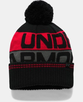 Men's UA Retro Pom 2.0 Beanie  1  Color Available $19.79
