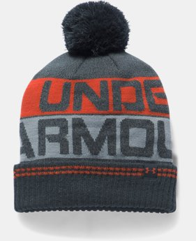 Men's UA Retro Pom 2.0 Beanie LIMITED TIME OFFER 3 Colors $19.59