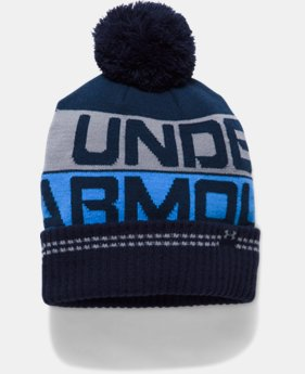 Men's UA Retro Pom 2.0 Beanie  1 Color $32.99