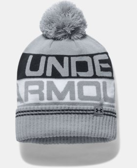 Men's UA Retro Pom 2.0 Beanie  2  Colors $27.99