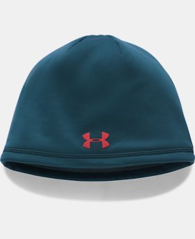 Men's UA Storm ColdGear® Reactor Beanie  5  Colors Available $15