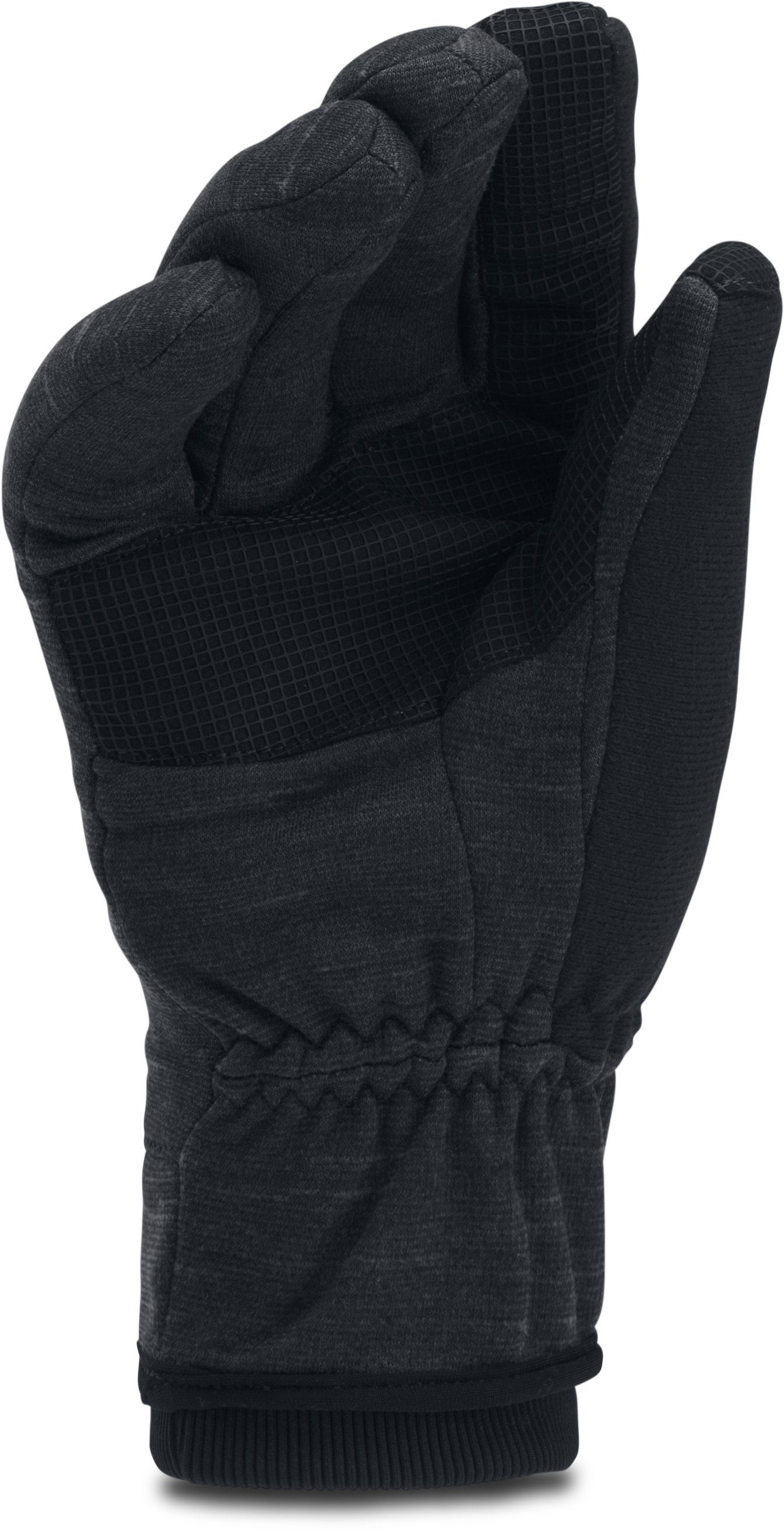 Men's UA Storm ColdGear® Reactor Gloves, Black ,