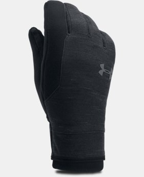 Best Seller Men's UA Storm ColdGear® Reactor Gloves  3 Colors $39.99