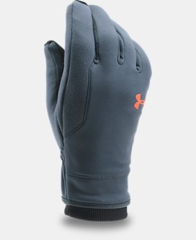 Men's UA Storm ColdGear® Reactor Gloves  3  Colors Available $44.99
