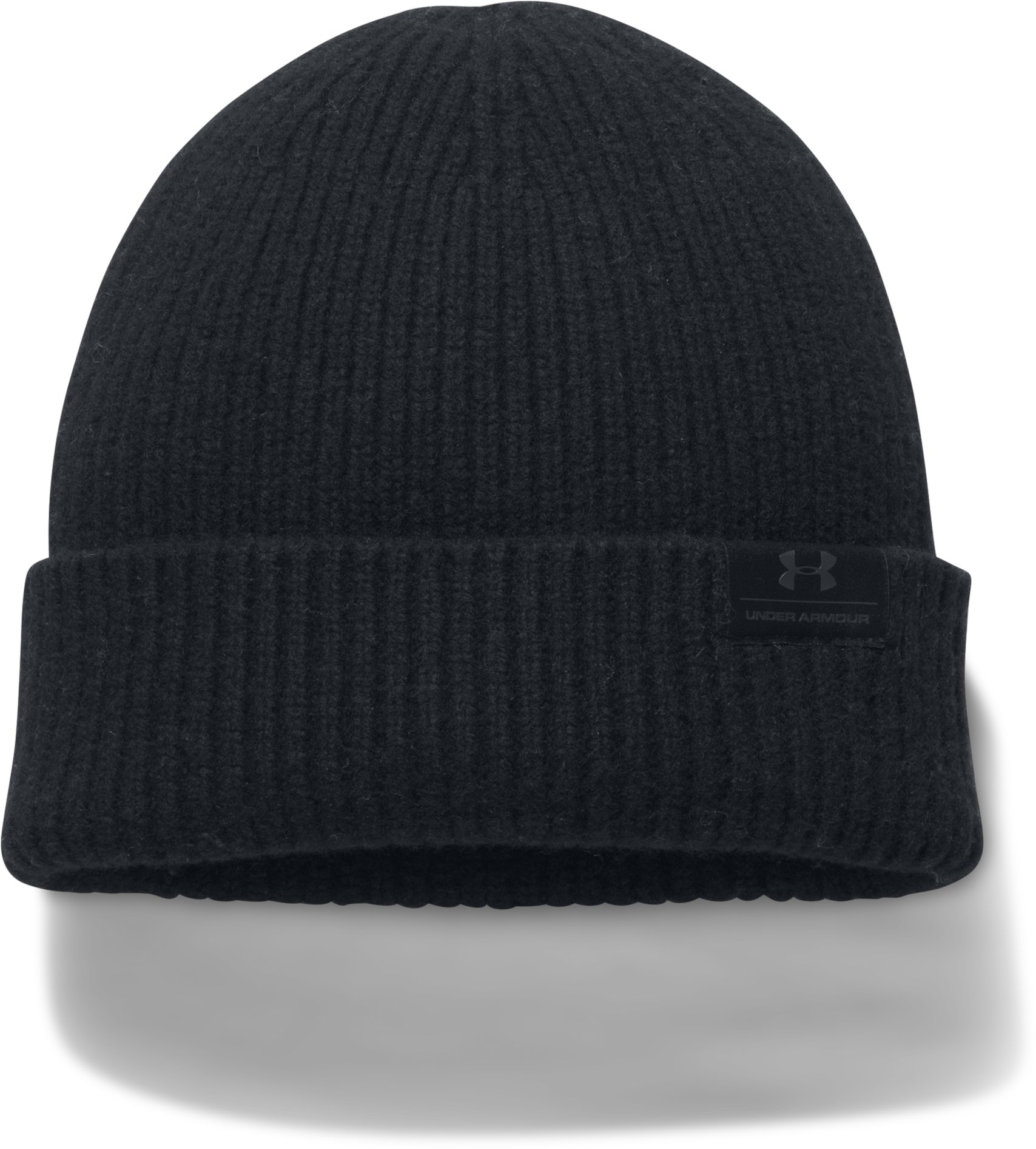 Men's UA Charged Wool Beanie, Black , undefined