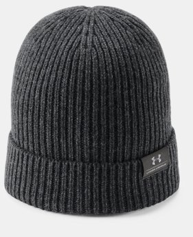 Men's UA Charged Wool Beanie  2  Colors Available $39.99