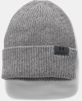 Men's UA Charged Wool Beanie  2 Colors $39.99