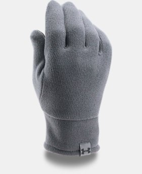 Men's UA Charged Wool Knit Gloves  2  Colors Available $23.99