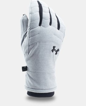 Men's UA Reactor Quilted Gloves  1 Color $49.99