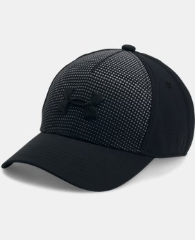 Boys' UA Fade Curved Visor Stretch Cap  3 Colors $24.99