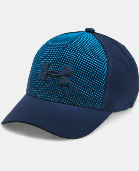 Boys' UA Fade Curved Visor Stretch Cap  1 Color $24.99