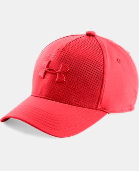 Boys' UA Fade Curved Visor Stretch Cap   $24.99