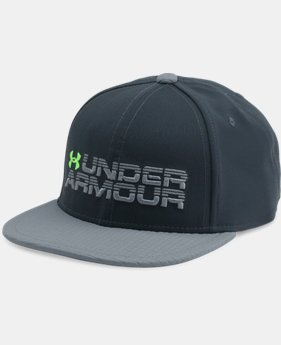 Boys' UA Grid Flat Brim Cap  1 Color $24.99