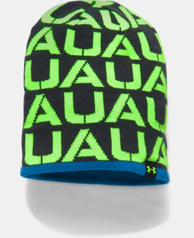 Boys' UA Reversible Beanie LIMITED TIME OFFER 1 Color $17.49