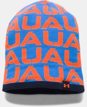 New to Outlet Boys' UA Reversible Beanie LIMITED TIME OFFER 1 Color $17.49