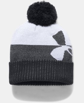 PRO PICK Boys' UA Pom Beanie LIMITED TIME OFFER 2 Colors $17.49