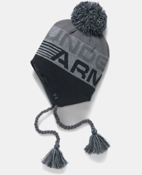 Boys' UA Tassle Beanie  2 Colors $24.99