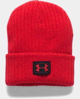 New to Outlet Boys' UA Truck Stop Beanie  2 Colors $14.99