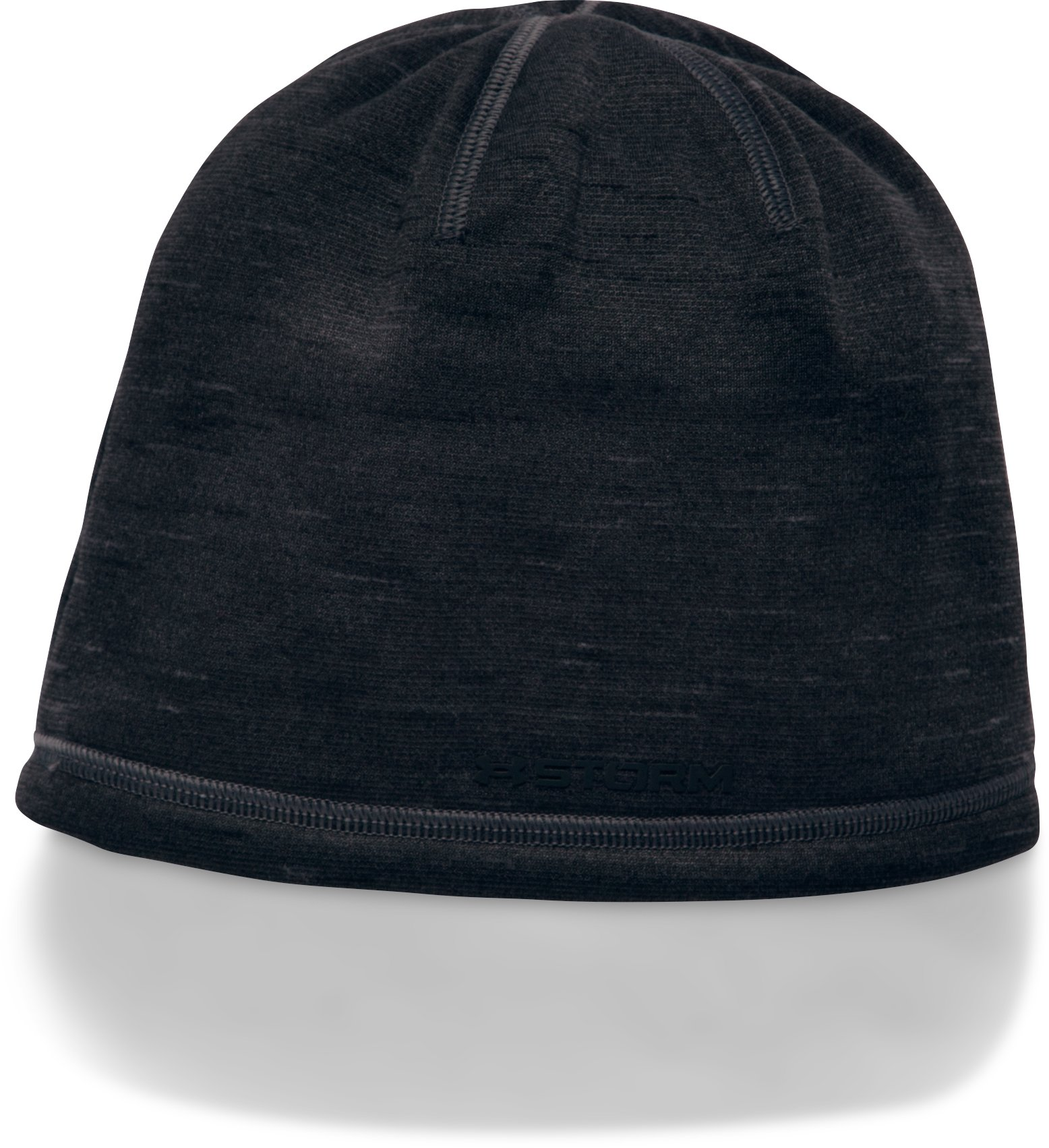 Boys' ColdGear® Reactor Beanie, Black ,