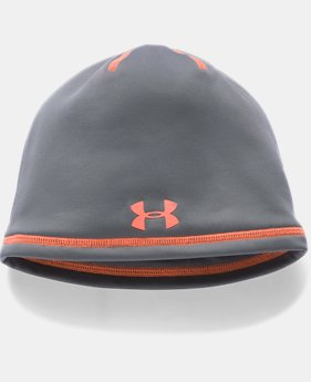 Boys' ColdGear® Reactor Beanie  3 Colors $18.74