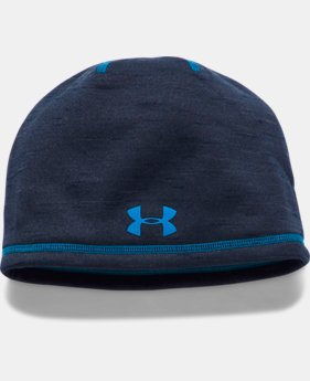 Boys' ColdGear® Reactor Beanie  1  Color Available $24.99