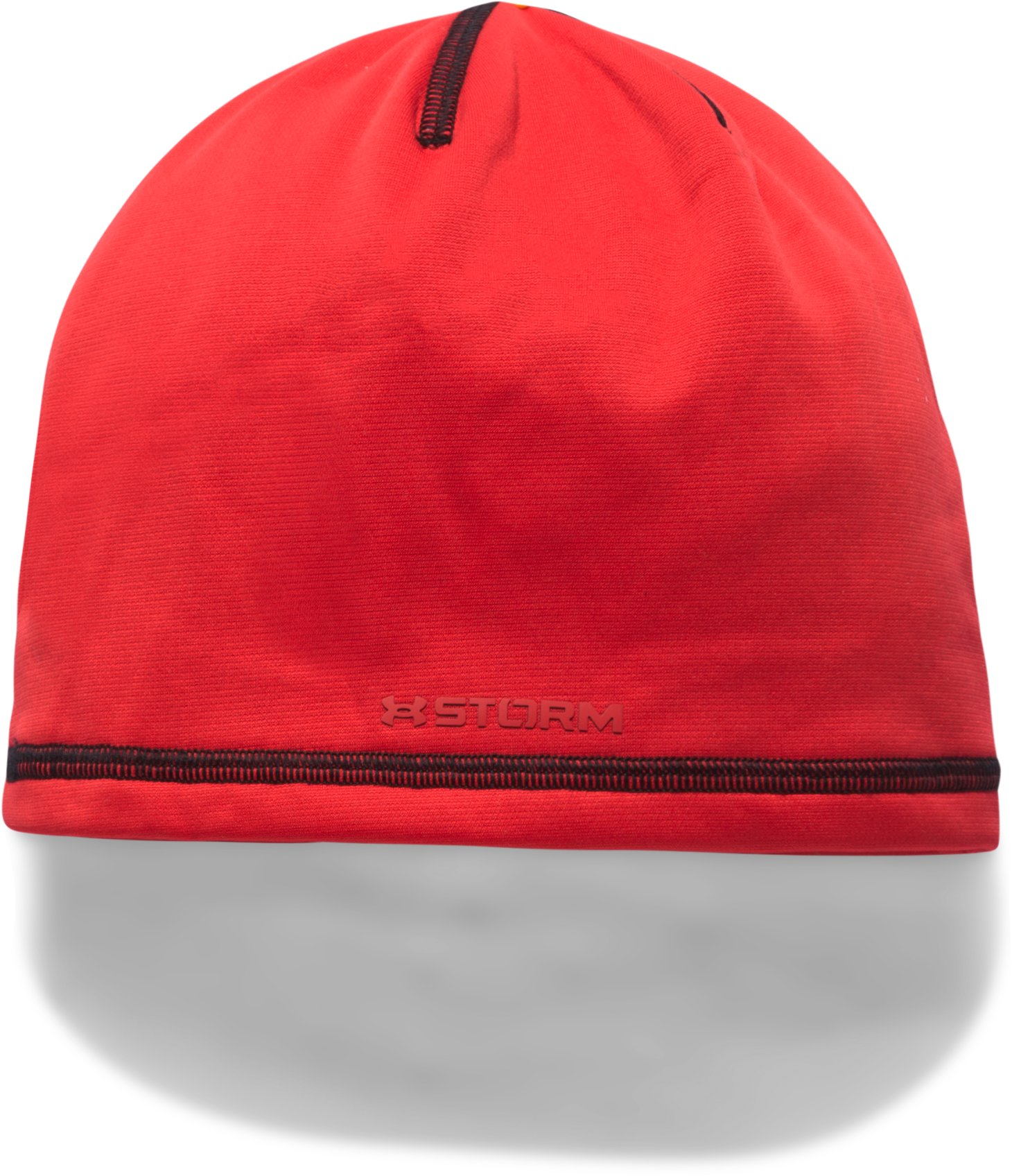 Boys' ColdGear® Reactor Beanie, Red,