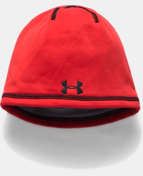 New to Outlet Boys' ColdGear® Reactor Elements Beanie LIMITED TIME OFFER 1 Color $17.49