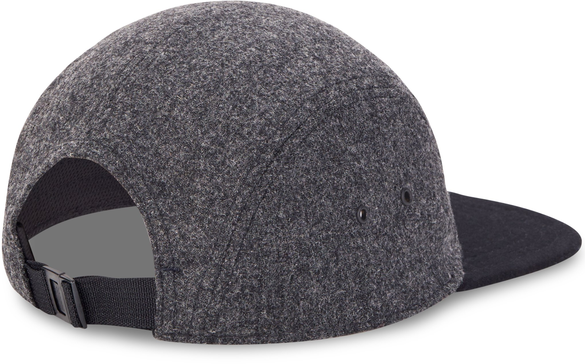Men's UAS Fundamentals 5-Panel Flannel Cap, DARK HEATHER GRAY, undefined