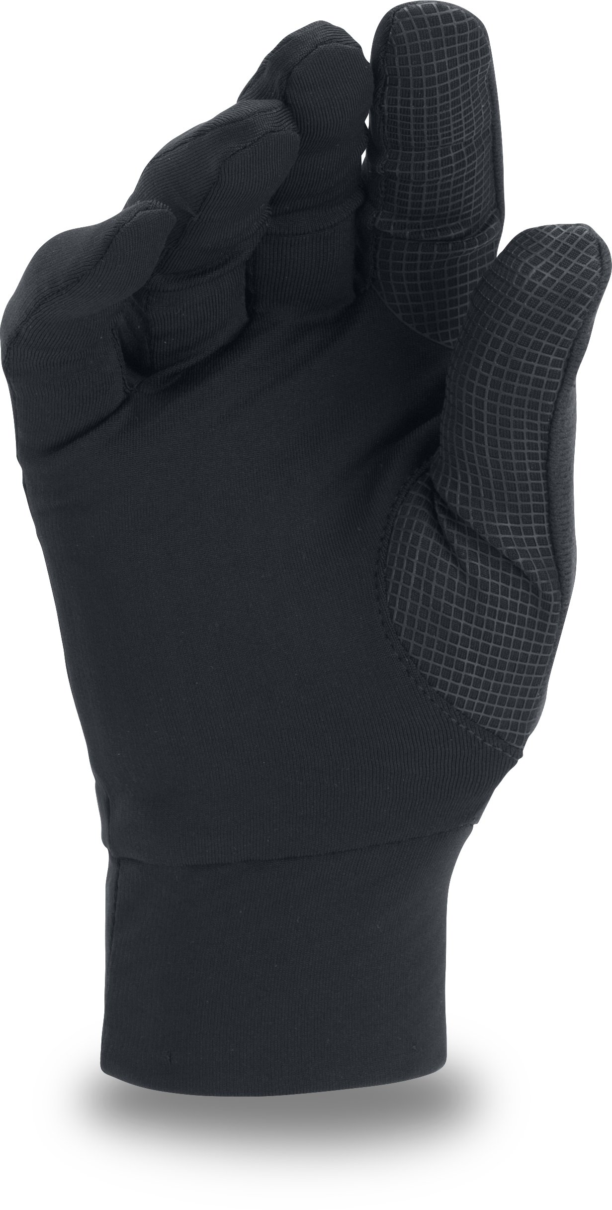 Men's UA ColdGear® Infrared Liner Glove, Black , undefined