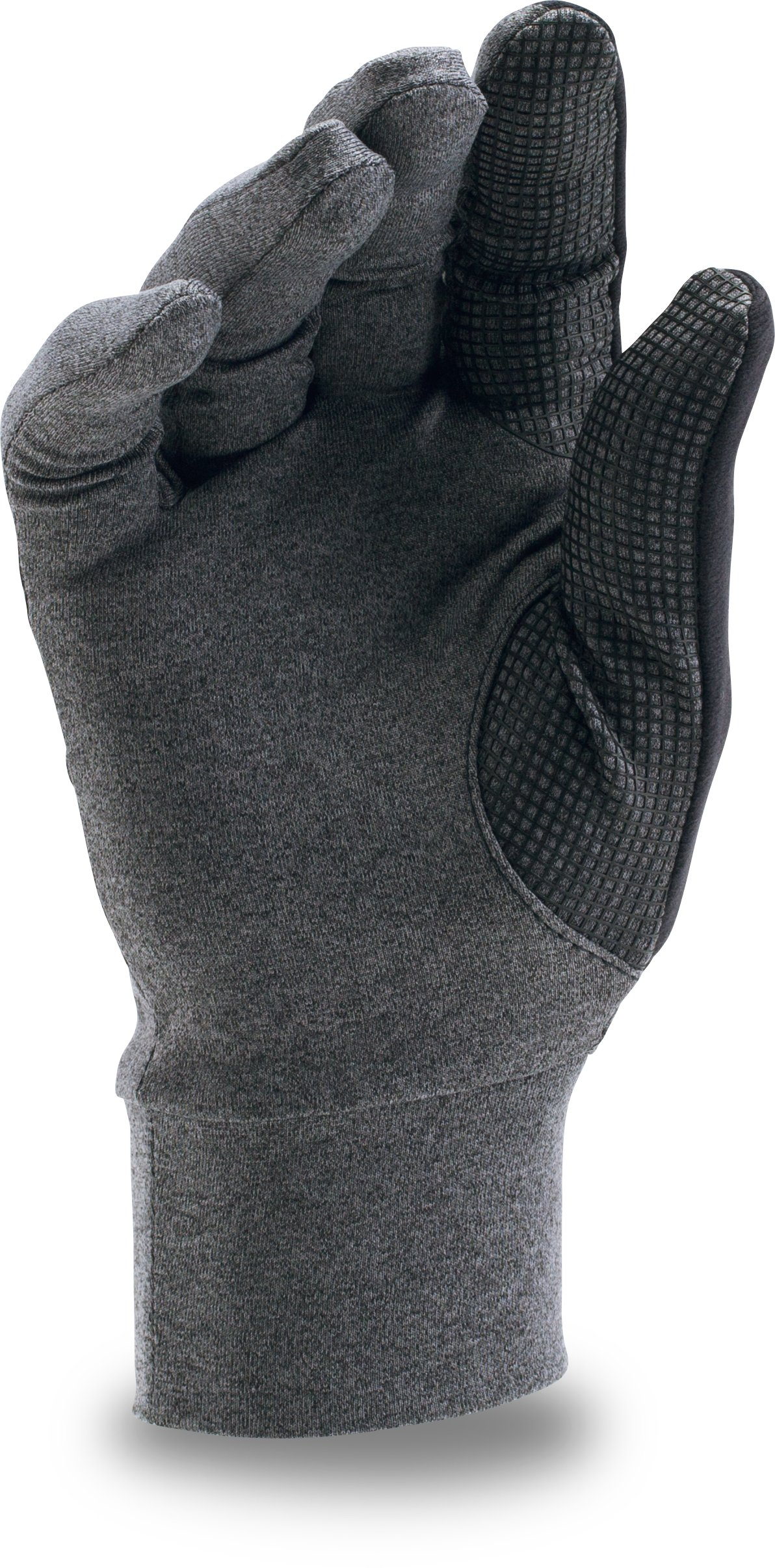 Men's UA ColdGear® Infrared Liner Glove, Carbon Heather,
