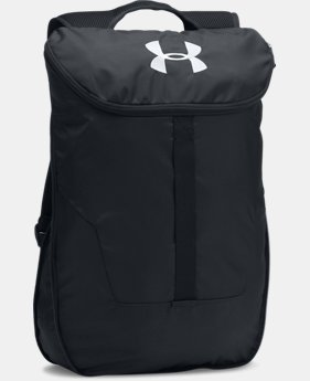 UA Expandable Sackpack  6 Colors $34.99