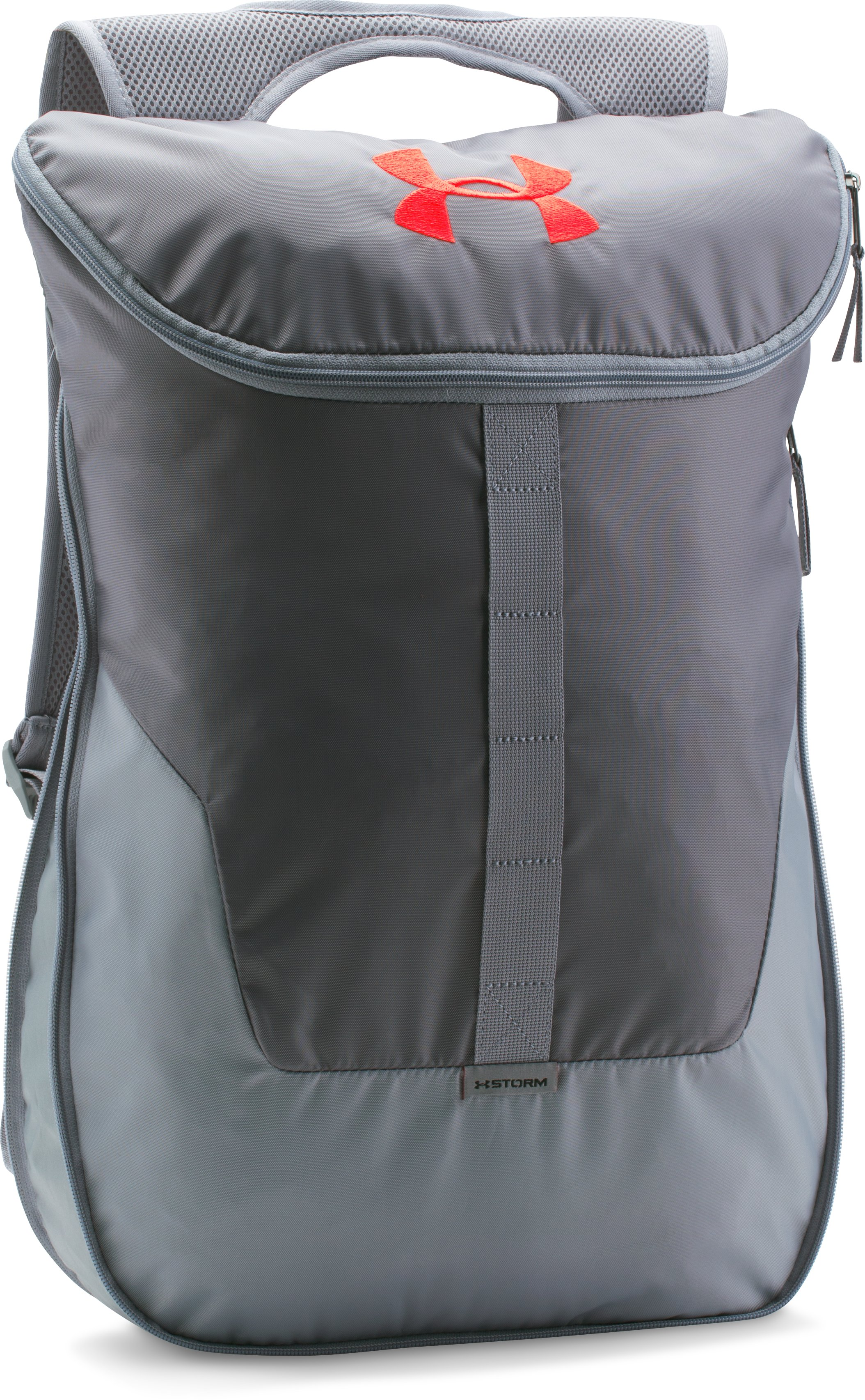 UA Expandable Sackpack, Graphite, zoomed image