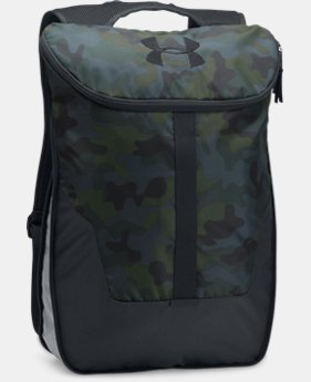 UA Expandable Sackpack  1  Color Available $34.99