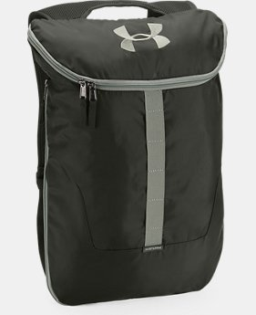 UA Expandable Sackpack  2  Colors Available $34.99