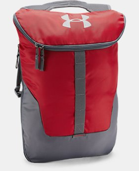 UA Expandable Sackpack  1 Color $20.99 to $26.24