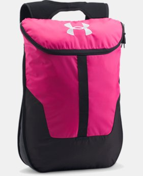 UA Expandable Sackpack  1 Color $26.24