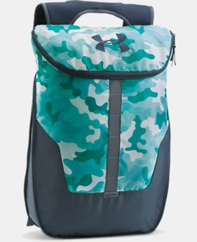 UA Expandable Sackpack  2 Colors $39.99
