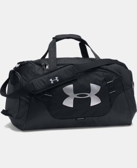 Best Seller Men's UA Undeniable 3.0 Medium Duffle Bag  1  Color Available $44.99